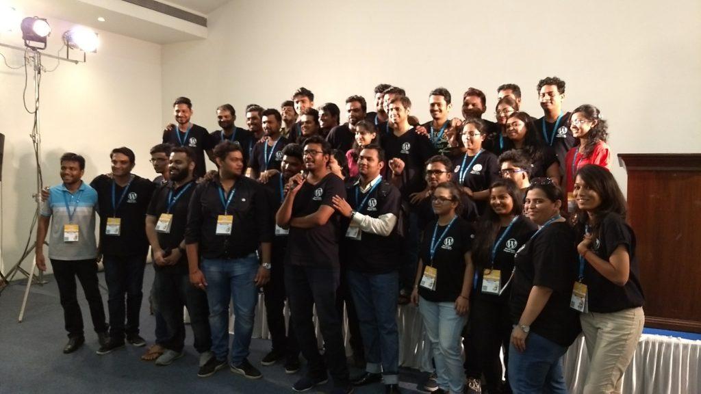 Organizers and Volunteers of WordCamp Nagpur