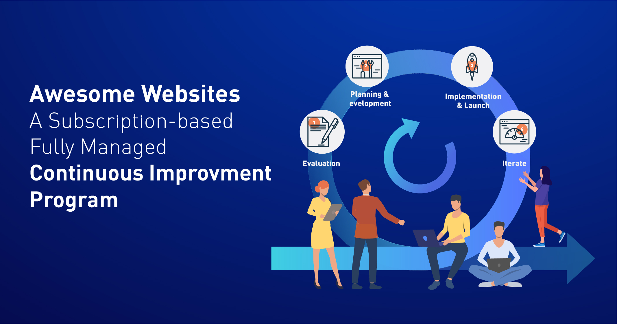 Awesome Websites : A Subscription-based Fully Managed Continuous Improvement Program