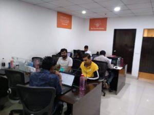 Plot Team working on the tasks